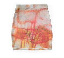 Fire Bloom Mini Skirt