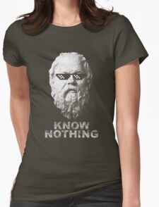 Know Nothing Womens Fitted T-Shirt