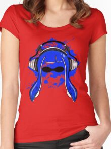 Inkling girl (Blue) Women's Fitted Scoop T-Shirt