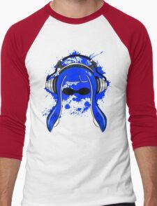 Inkling girl (Blue) Men's Baseball ¾ T-Shirt