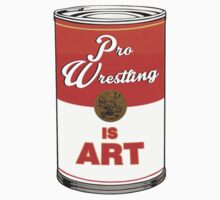 Pro Wrestling is (pop) Art - Colour Kids Tee