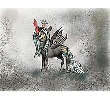 Queen Chrysalis With a Pip Boy Cutie Mark Photographic Print