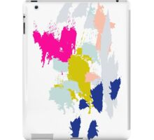 Acrylic paint brush strokes. iPad Case/Skin