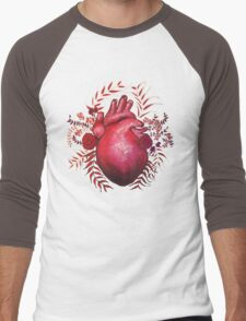April's Broken Heart Men's Baseball ¾ T-Shirt