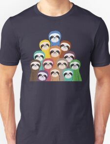 Sloth Pattern Unisex T-Shirt