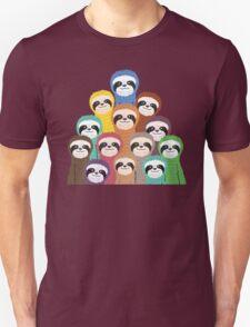 Sloth Pattern Unisex T-Shirt