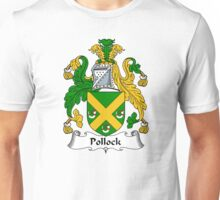 Pollock Coat of Arms / Pollock Family Crest Unisex T-Shirt