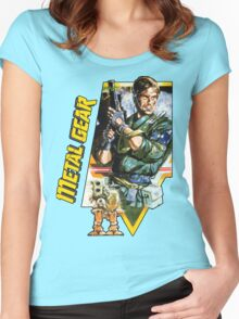 Metal Gear Women's Fitted Scoop T-Shirt