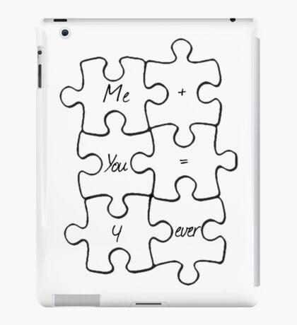 We Fit Together - B&W iPad Case/Skin