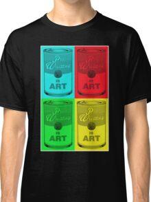 Pro Wrestling is (pop) Art Classic T-Shirt