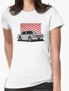Nissan Skyline 2000 GT-R Coupe (silver) Womens Fitted T-Shirt