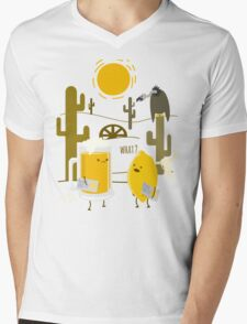 Wrong place Mens V-Neck T-Shirt
