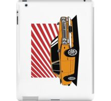 Nissan Skyline 2000 GT-R Coupe (orange) iPad Case/Skin