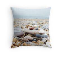 pebble beach Throw Pillow