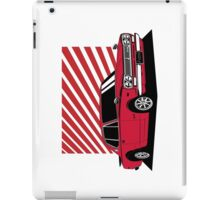 Nissan Skyline 2000 GT-R Coupe (red) iPad Case/Skin