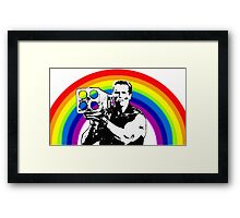 War Rainbow Framed Print