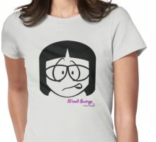 Anxious Womens Fitted T-Shirt