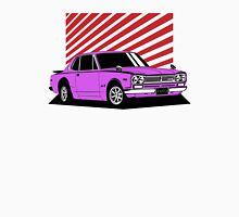 Nissan Skyline 2000 GT-R Coupe (purple) Unisex T-Shirt