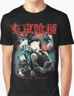 Kaneki Ken Cover Graphic T-Shirt