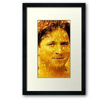The Golden Kappa Framed Print