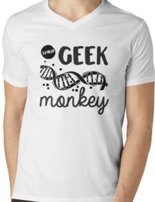 Geek Monkey Cosima  Mens V-Neck T-Shirt