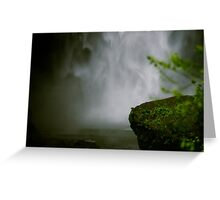 deafening silence Greeting Card