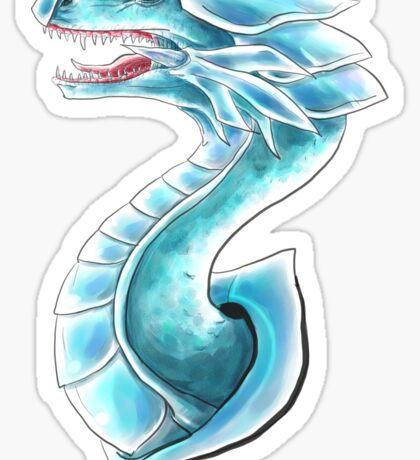 Blue Eyes White Dragon Sticker
