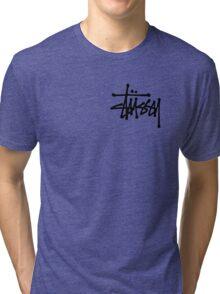 Stussy Logo Tri-blend T-Shirt