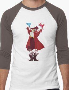 Dancy Owl Men's Baseball ¾ T-Shirt