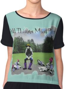 All Things Must Pass Album Chiffon Top