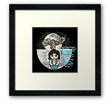 sarah and the labyrinth momiji Framed Print
