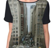 Chicago Point of View Chiffon Top