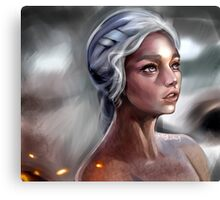 Mother of Dragons Canvas Print