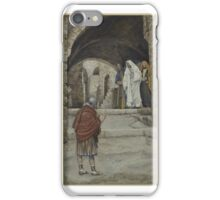 Lord, I Am Not Worthy (Domine Non Sum Dignus),  James Tissot,  iPhone Case/Skin
