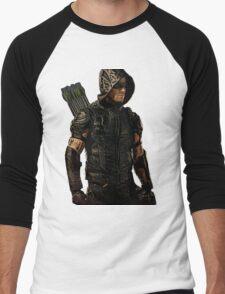 Arrow Season 4 Suit, Oliver Queen Men's Baseball ¾ T-Shirt