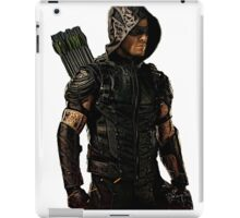 Arrow Season 4 Suit, Oliver Queen iPad Case/Skin