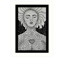 Untitled Female by Leslie Berg Art Print