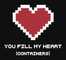 You Fill My Heart (Containers) One Piece - Long Sleeve