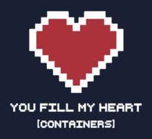 You Fill My Heart (Containers) Baby Tee