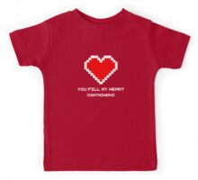 You Fill My Heart (Containers) Kids Tee