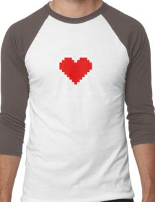 You Fill My Heart (Containers) Men's Baseball ¾ T-Shirt