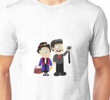 Mary Poppins and Bert Unisex T-Shirt