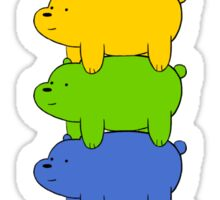 Gay Pride Bears Sticker