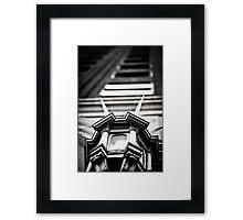 Clocktower Framed Print