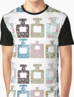 Floral bottles Graphic T-Shirt