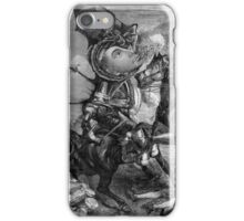 Who was Abel to fire the First Shot. iPhone Case/Skin