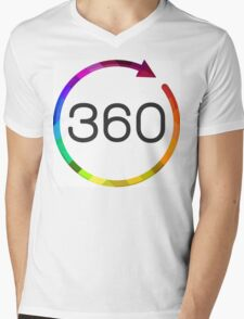 For the 360 obsessed! Mens V-Neck T-Shirt
