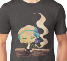 riley blue on a wall Unisex T-Shirt