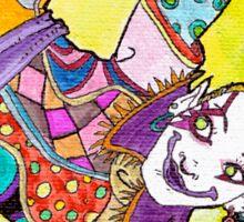 Kefka - Dancing Colorful Sticker