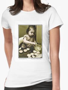 Miss Beeton Makes Cakes Womens Fitted T-Shirt